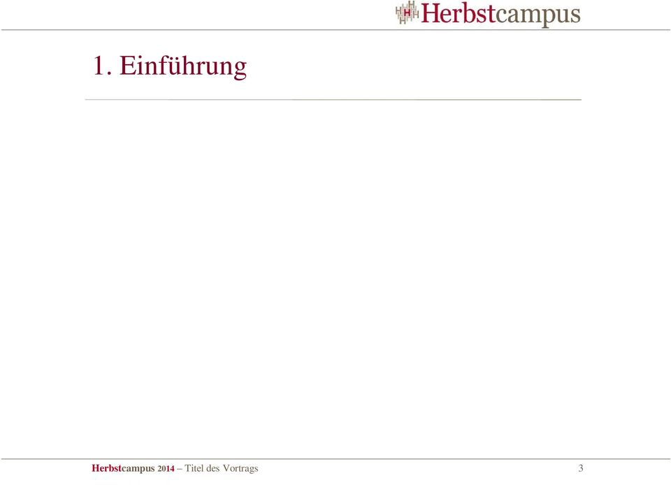 Herbstcampus