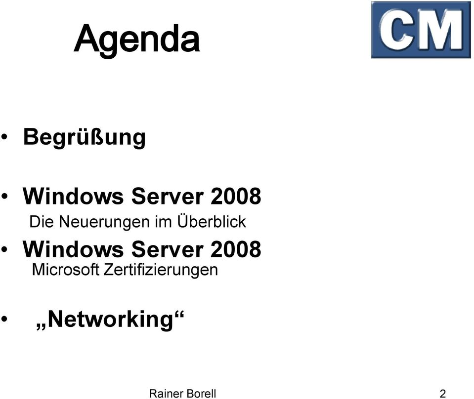 Windows Server 2008 Microsoft