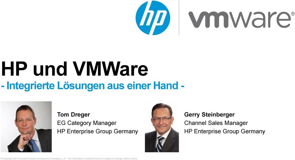 HP Enterprise Group Germany Gerry
