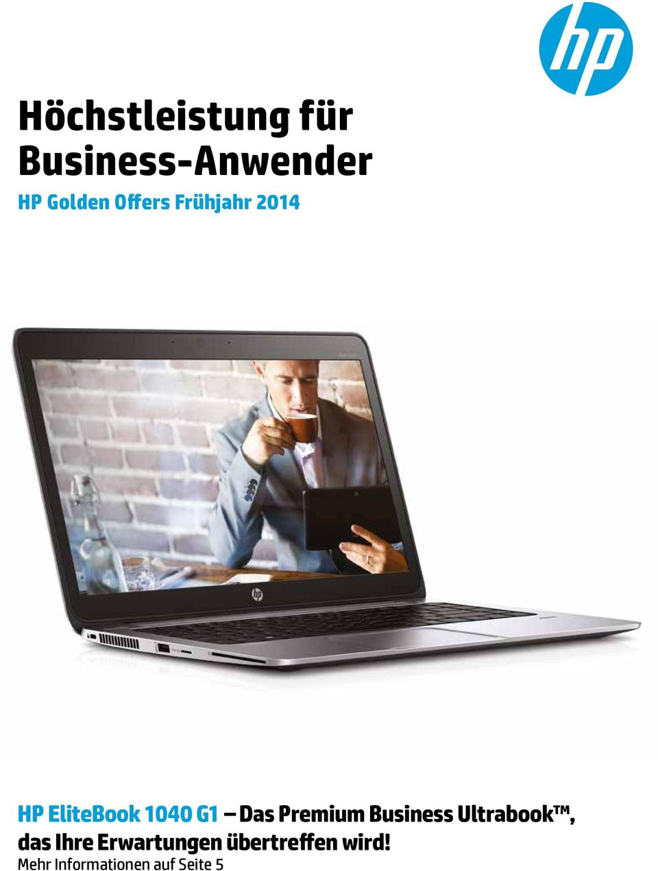 Premium Business Ultrabook, das Ihre