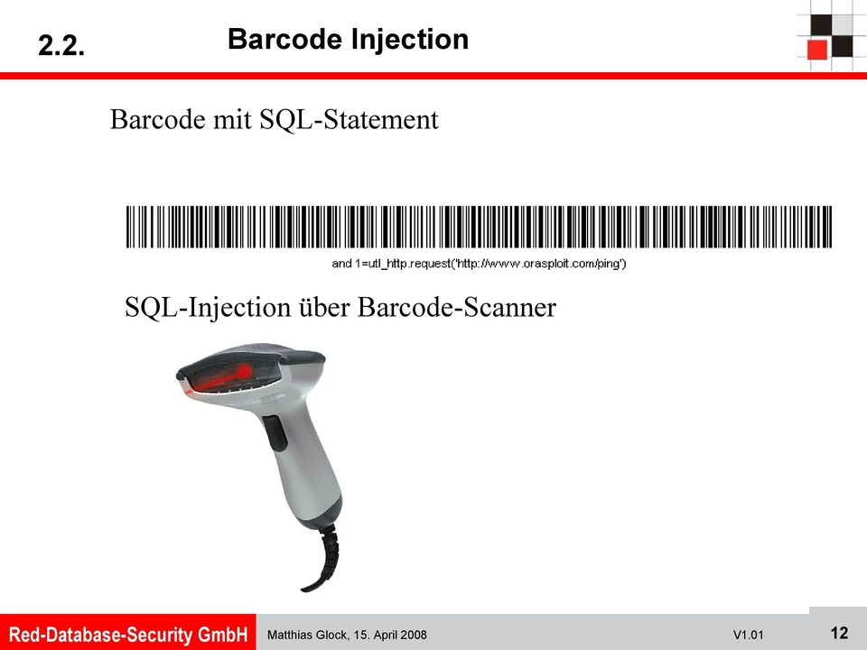 SQL-Injection über