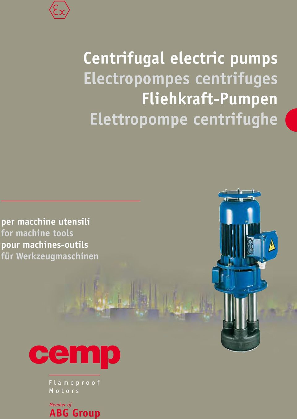 Centrifugal electric pumps Electropompes