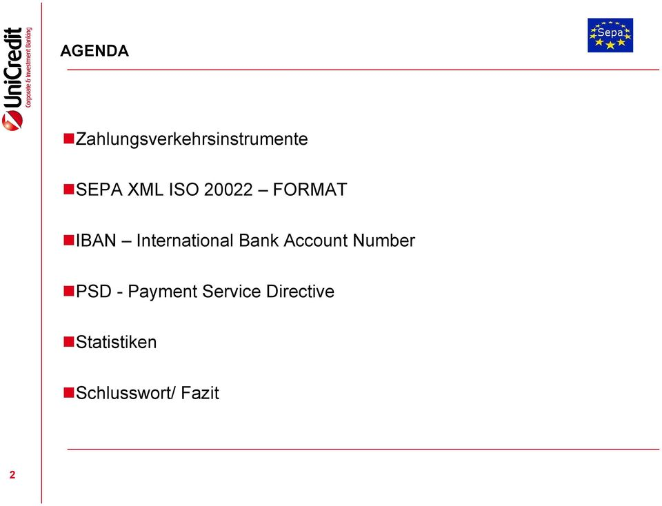 Bank Account Number PSD - Payment