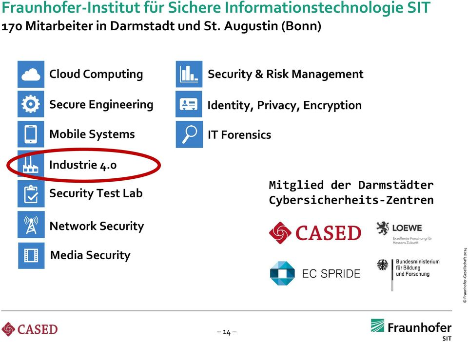 Augustin (Bonn) Cloud Computing Secure Engineering Mobile Systems Industrie 4.