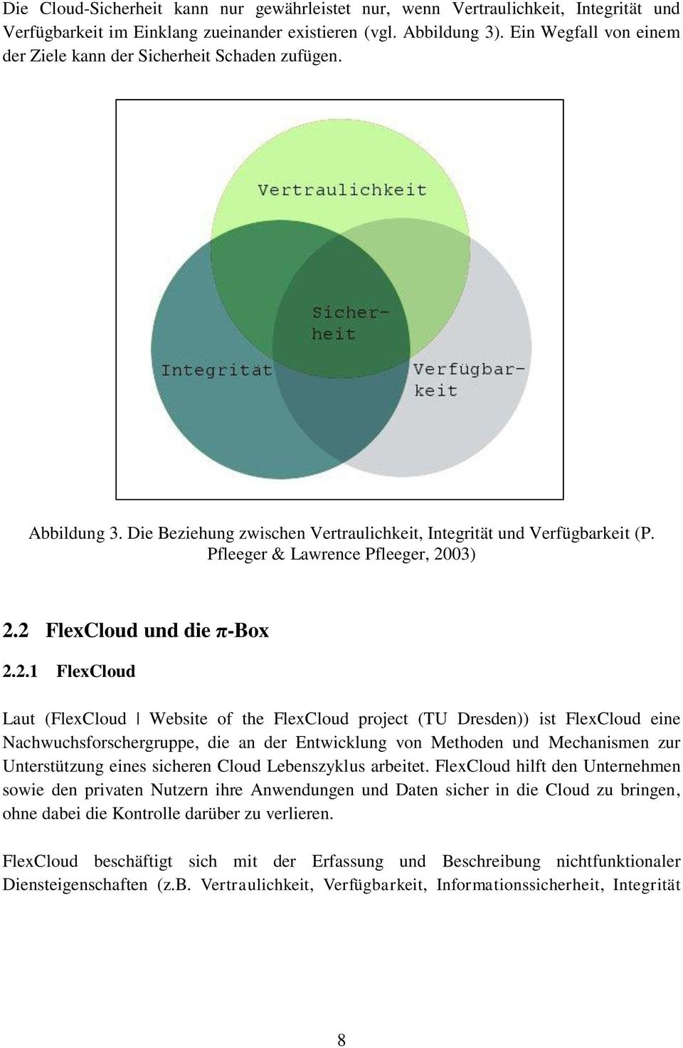 2 FlexCloud und die π-box 2.2.1 FlexCloud Laut (FlexCloud Website of the FlexCloud project (TU Dresden)) ist FlexCloud eine Nachwuchsforschergruppe, die an der Entwicklung von Methoden und