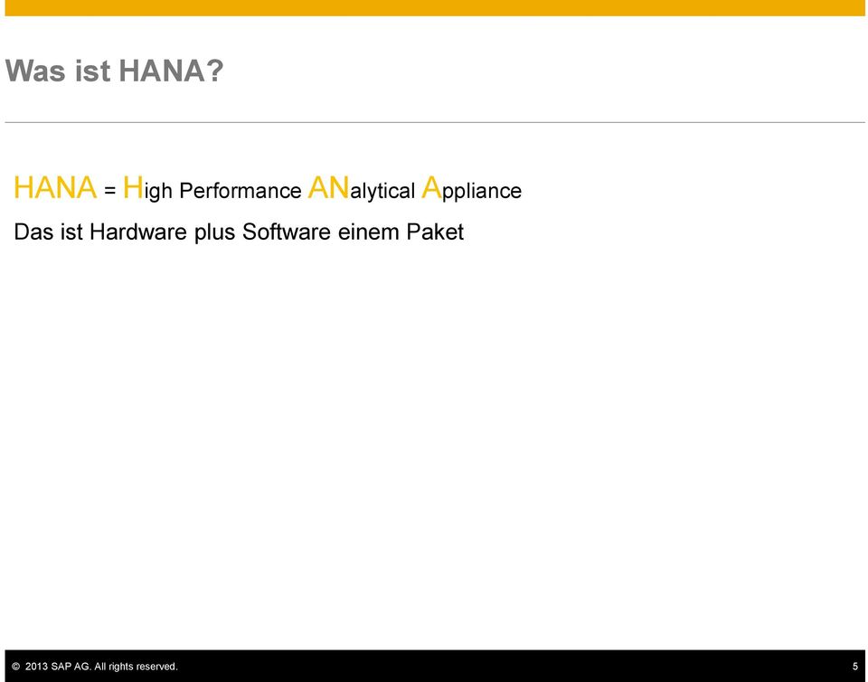 Appliance Das ist Hardware plus
