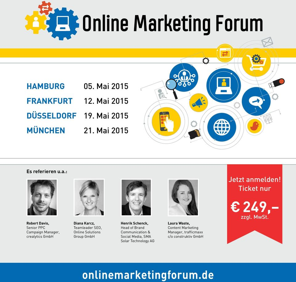 Robert Davis, Senior PPC Campaign Manager, crealytics GmbH Diana Karcz, Teamleader SEO, Online Solutions Group