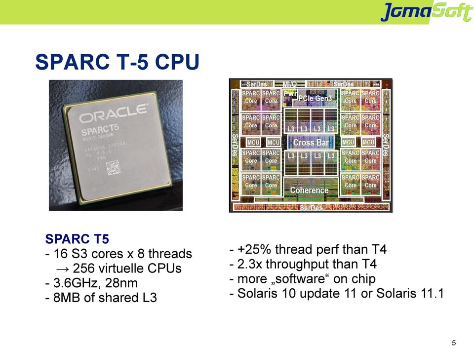 6GHz, 28nm - 8MB of shared L3 - +25% thread perf than
