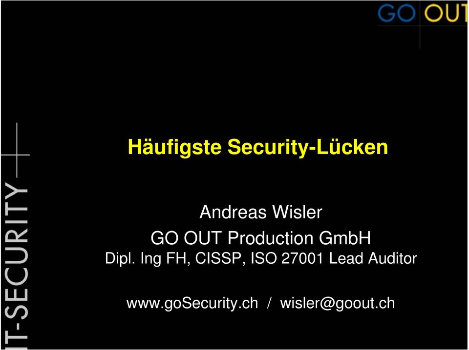 Ing FH, CISSP, ISO 27001 Lead