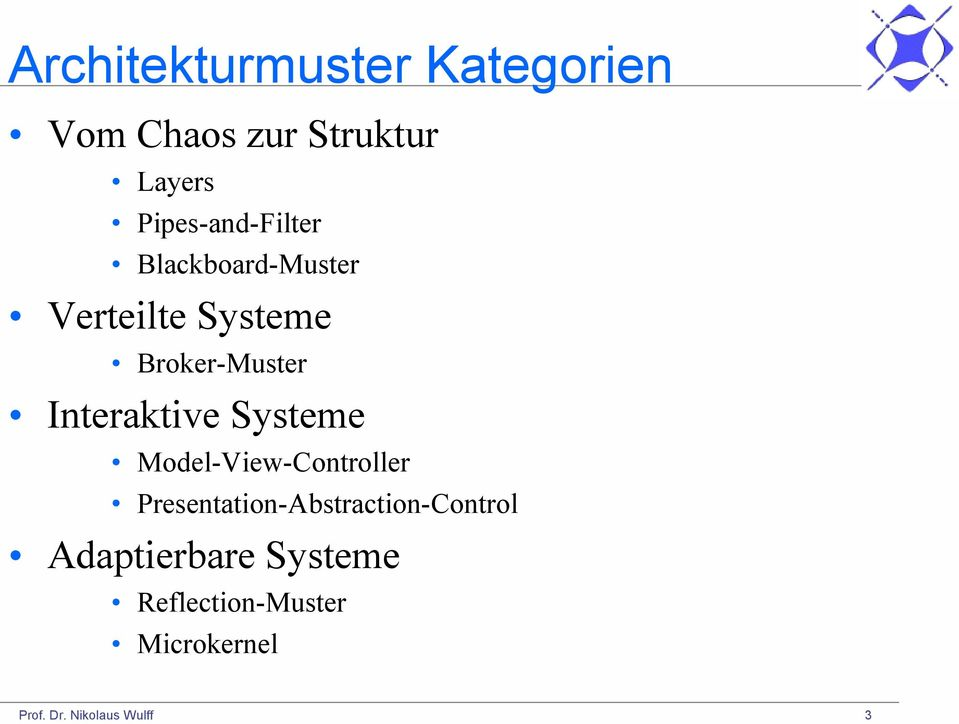 Interaktive Systeme Model-View-Controller
