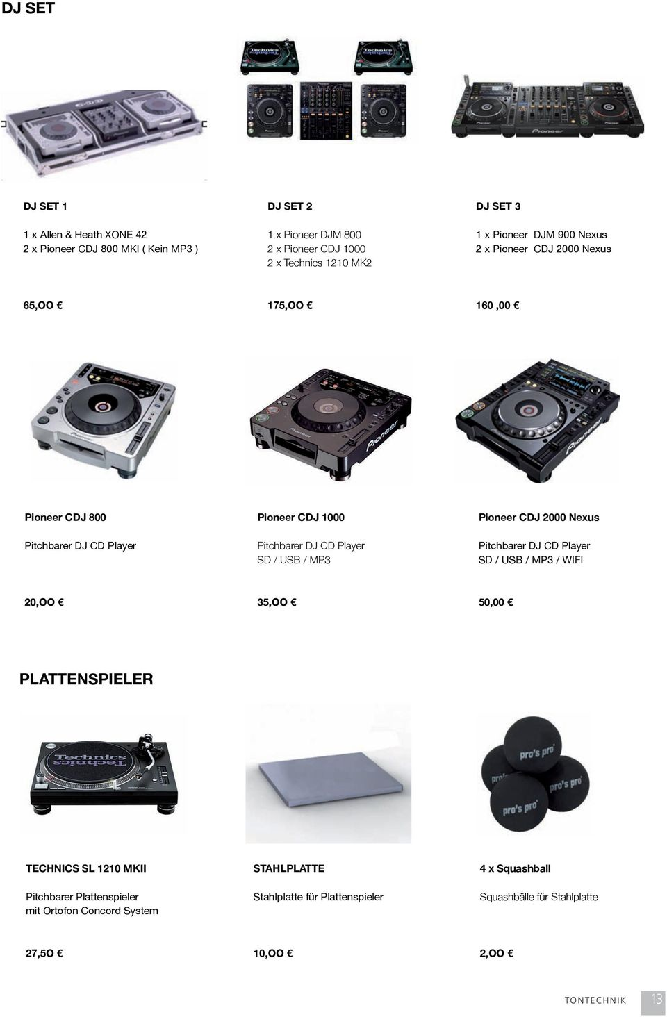 Pioneer CDJ 800 Pitchbarer DJ CD Player Pioneer CDJ 1000 Pitchbarer DJ CD Player SD / USB / MP3 Pioneer CDJ 2000 Nexus Pitchbarer DJ CD Player SD / USB / MP3