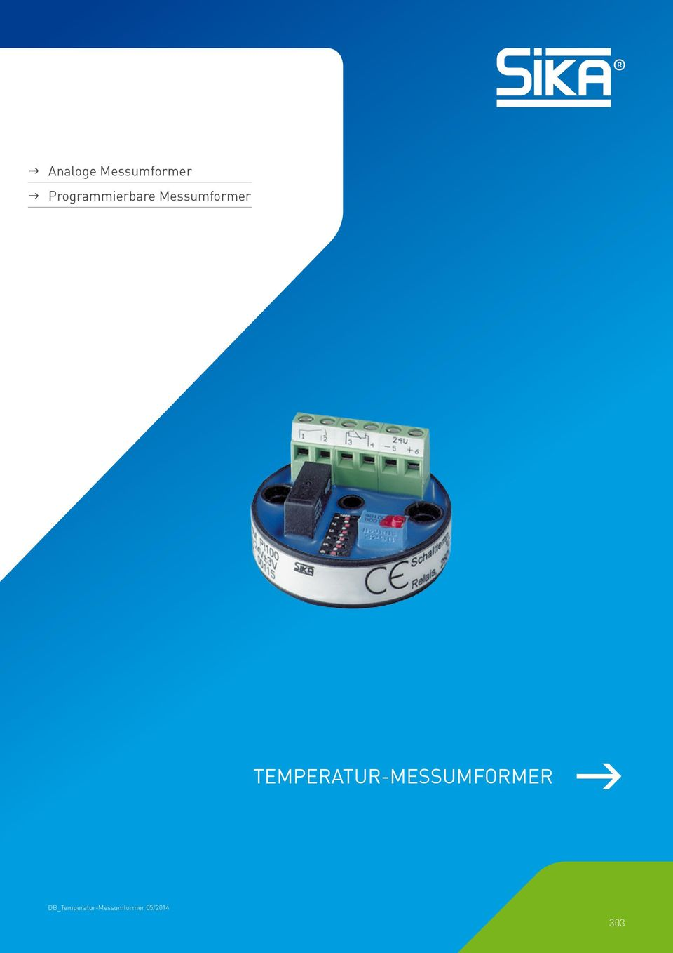 TEMPERATUR-MESSUMFORMER