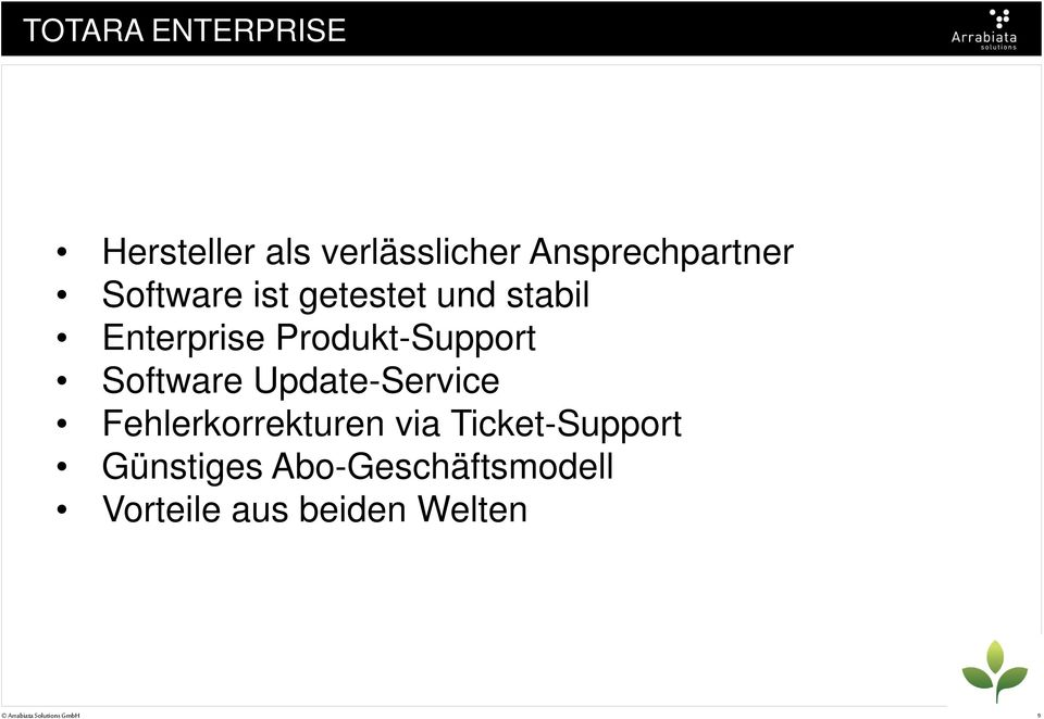 Software Update-Service Fehlerkorrekturen via Ticket-Support