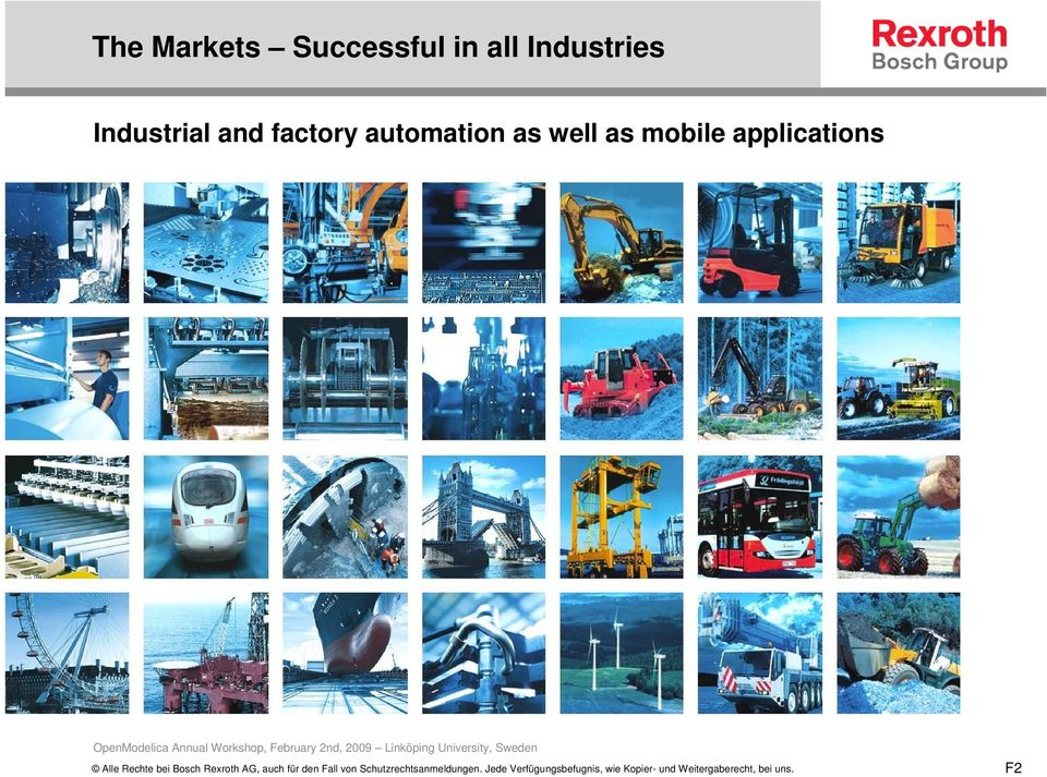 and factory automation as
