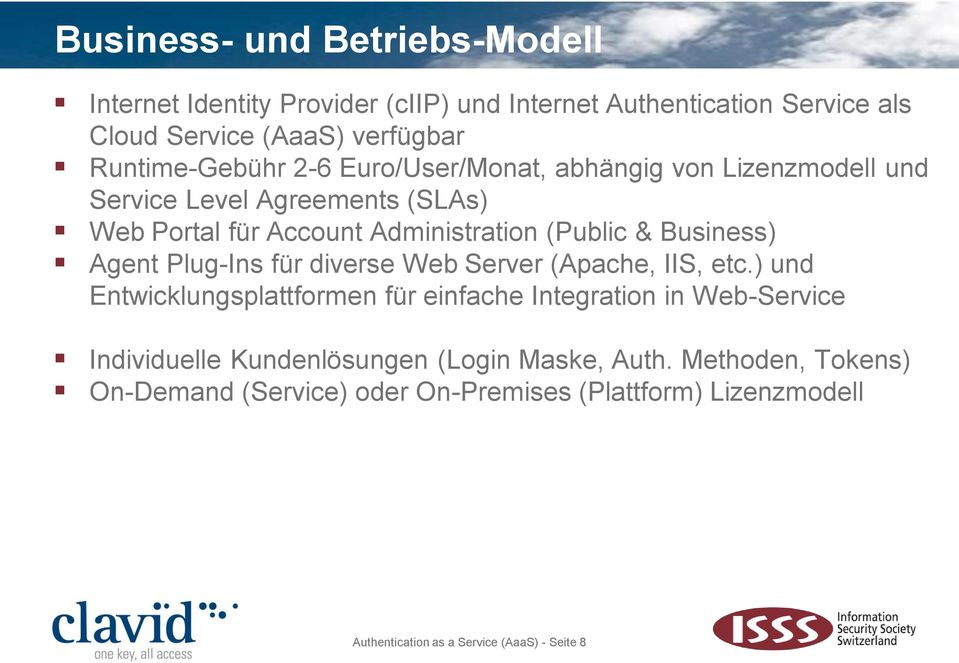 Business) Agent Plug-Ins für diverse Web Server (Apache, IIS, etc.