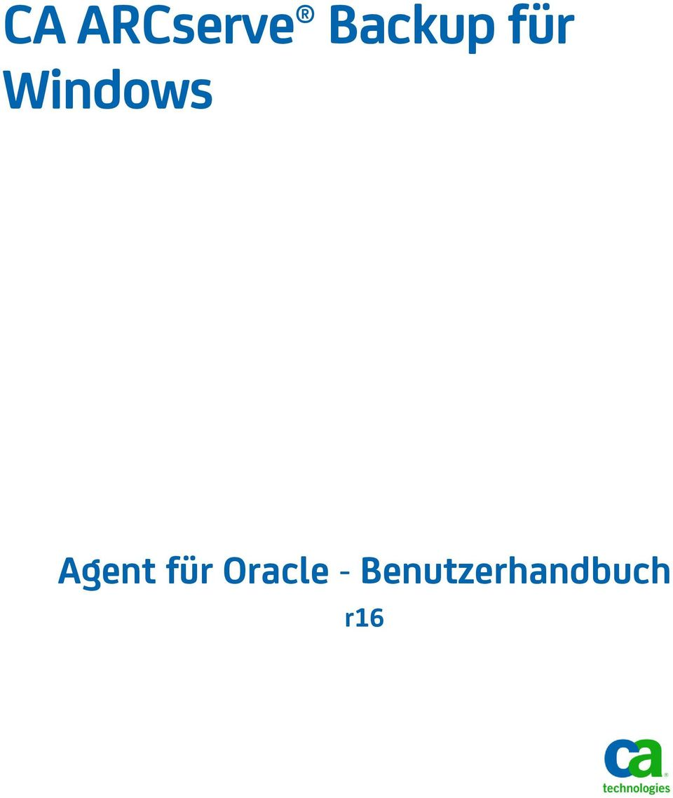Windows Agent für