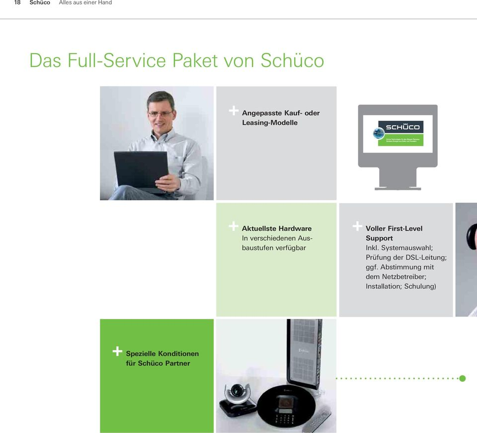 Voller First-Level Support Inkl. Systemauswahl; Prüfung der DSL-Leitung; ggf.
