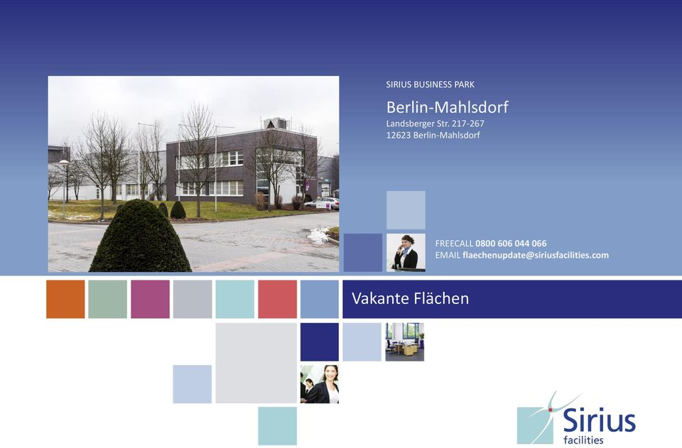 217-267 12623 Berlin-Mahlsdorf FREECALL