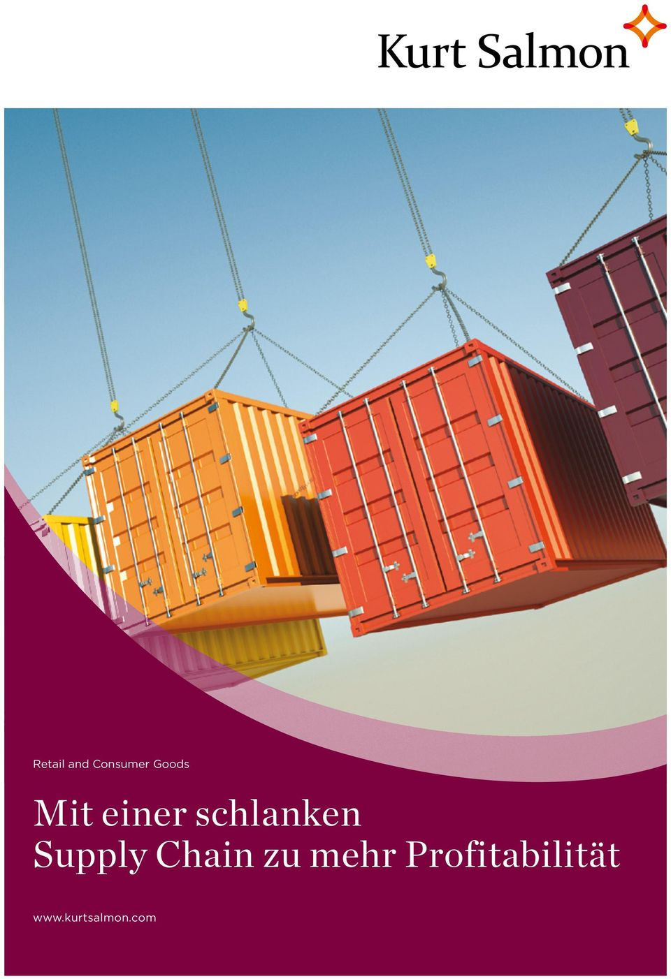 schlanken Supply Chain