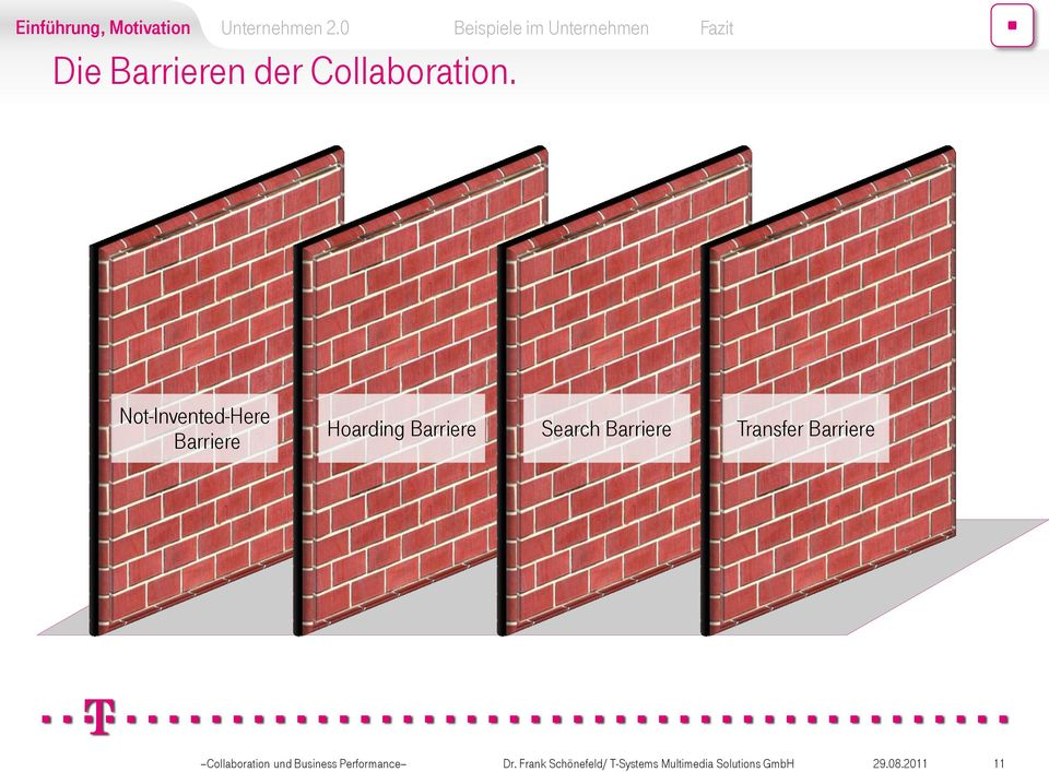 Barriere Transfer Barriere Collaboration Business