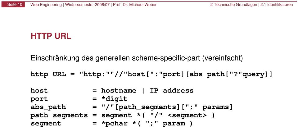"(vereinfacht) http_url = ""http:""""//""host["":""port][abs_path[""?"