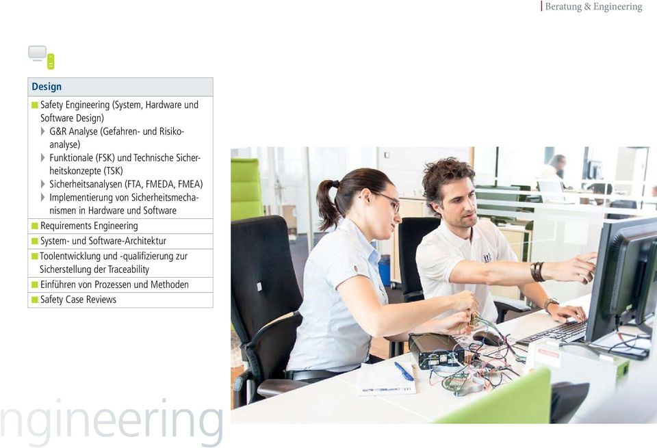Implementierung von Sicherheitsmechanismen in Hardware und Software Requirements Engineering System- und