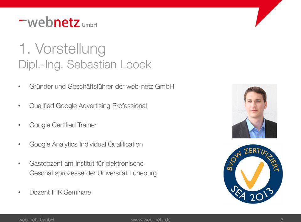 Advertising Professional Google Certified Trainer Google Analytics Individual