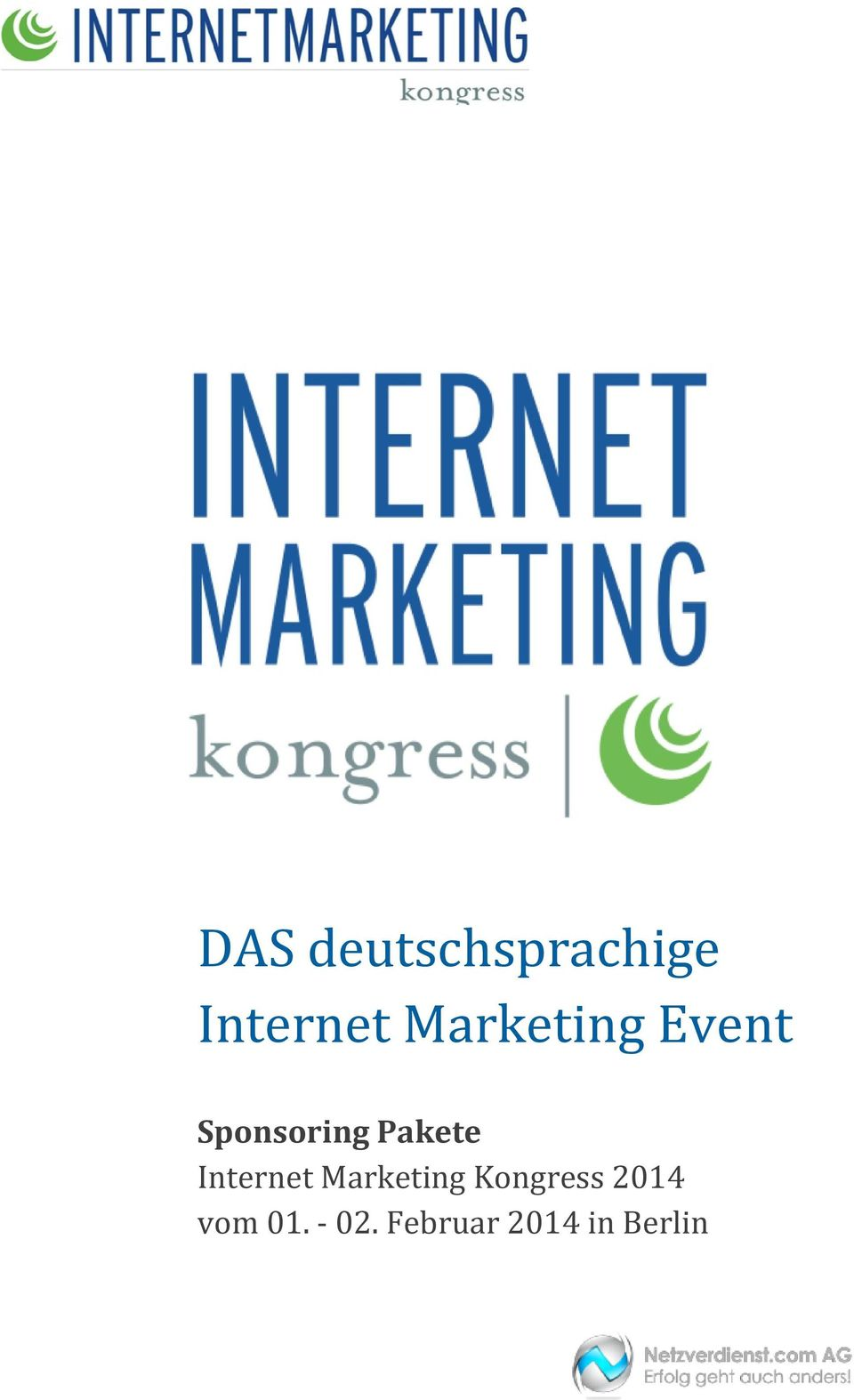 Internet Marketing Kongress 2014