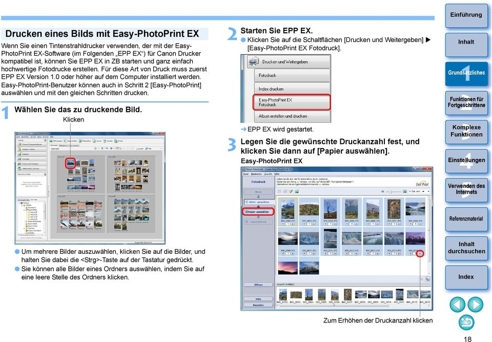 ZoomBrowser EX Vers 6 7 Be nungsanleitung PDF