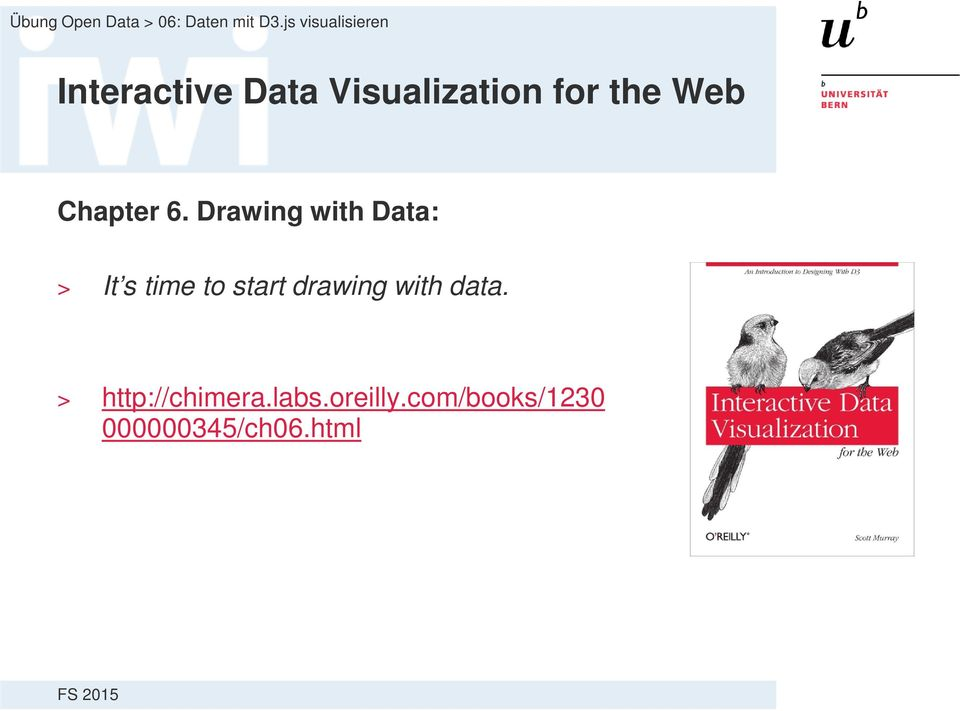 Drawing with Data: > It s time to start