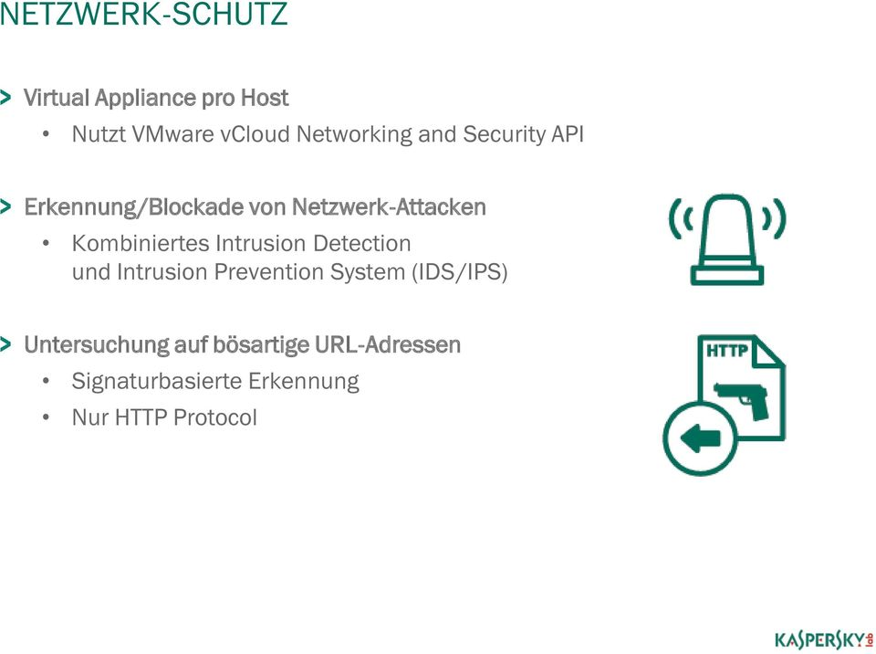 Kombiniertes Intrusion Detection und Intrusion Prevention System