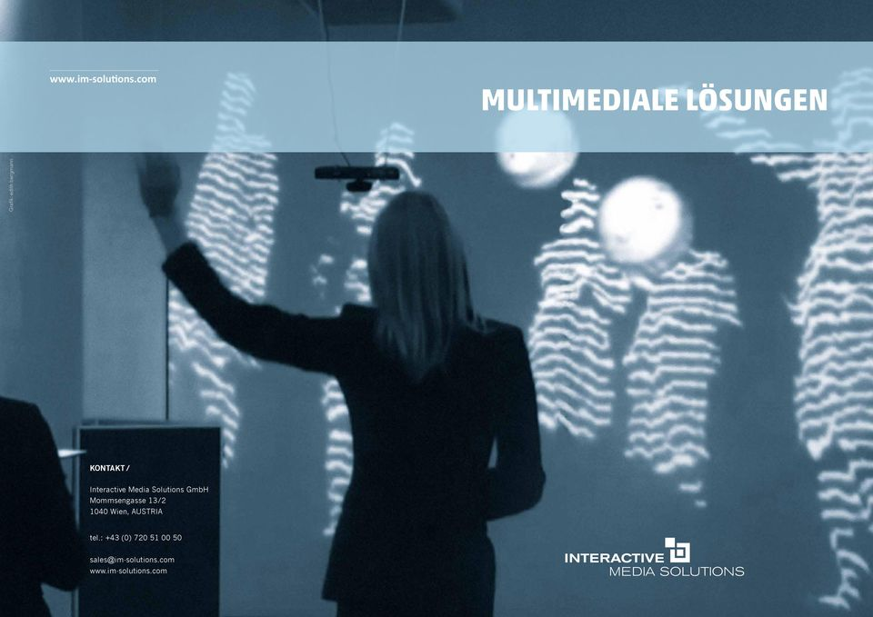 KONTAKT / Interactive Media Solutions GmbH