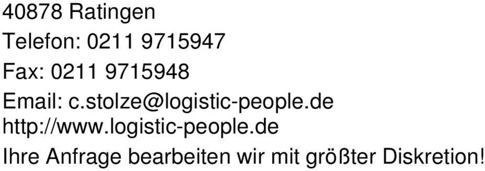 stolze@logistic-people.de http://www.