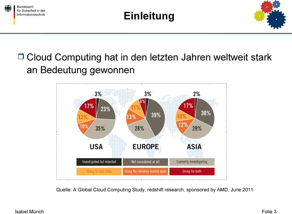 Quelle: A Global Cloud Computing Study, redshift