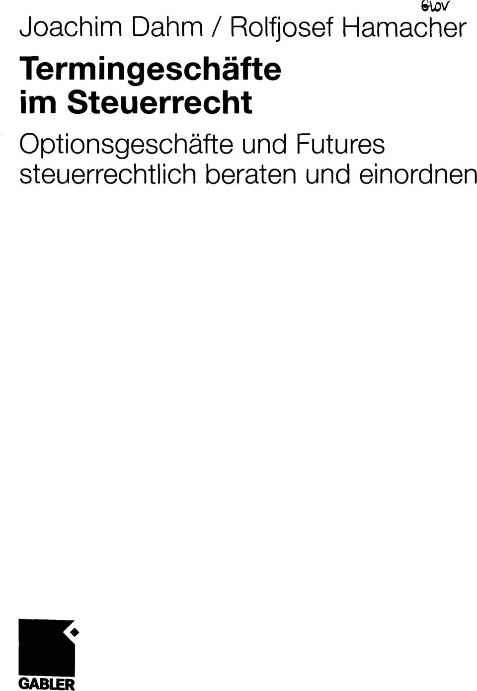 Optionsgeschafte und Futures