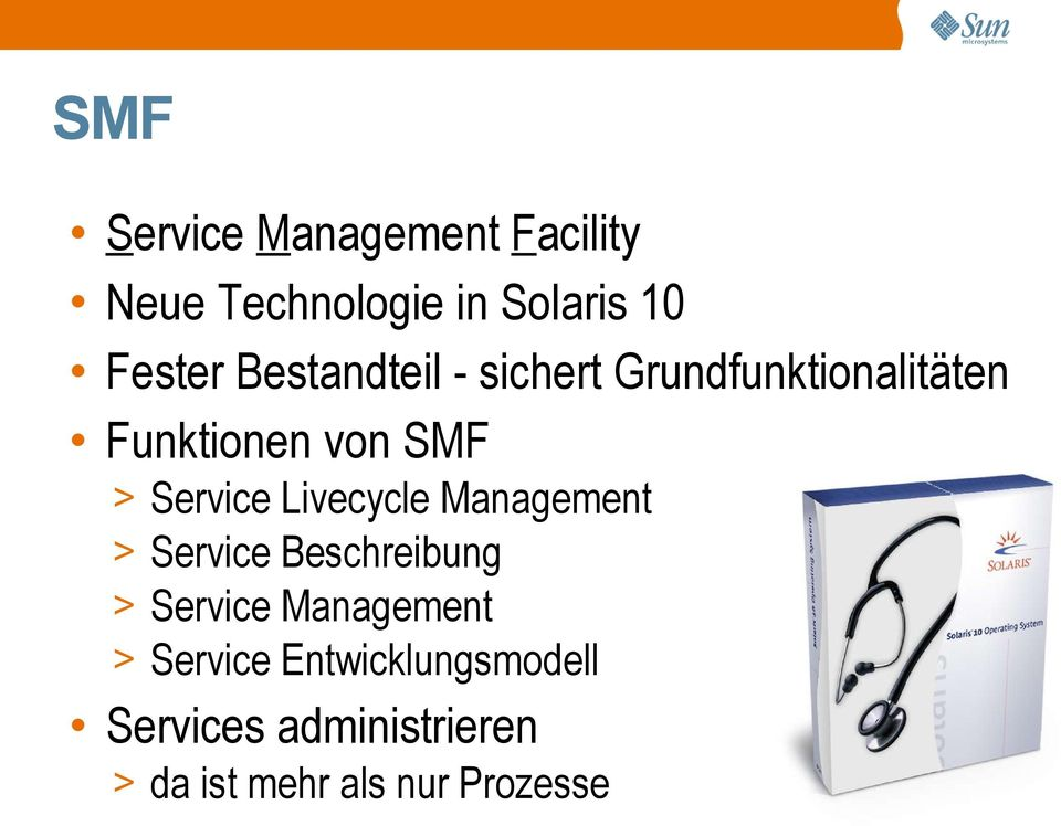 Livecycle Management > Service Beschreibung > Service Management >