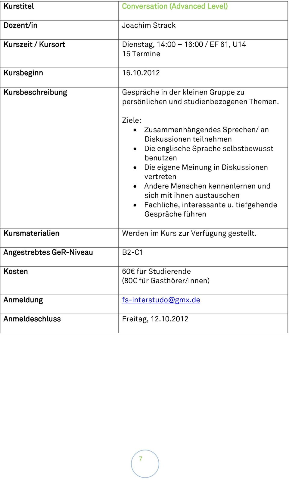 sprachen c1 level