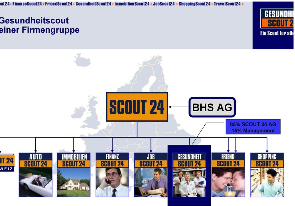 BHS AG 85% SCOUT