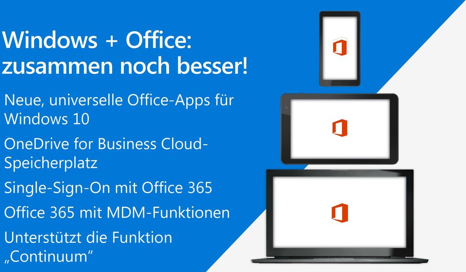 for Business Cloud- Speicherplatz Single-Sign-On mit