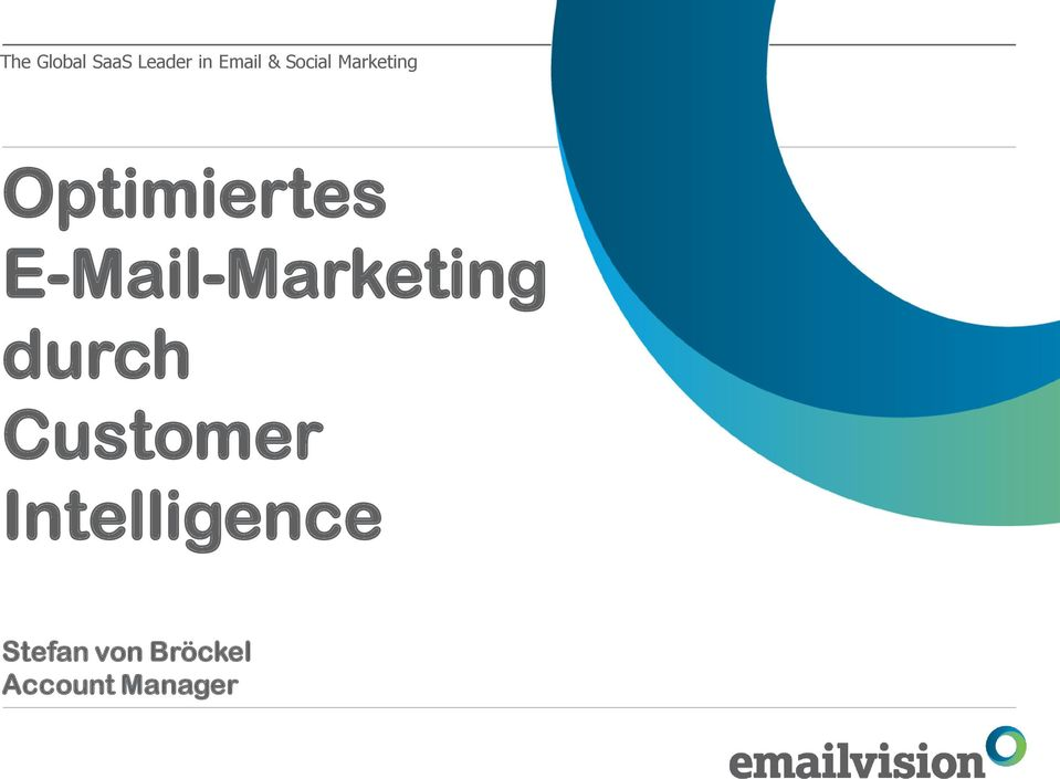 E-Mail-Marketing durch Customer