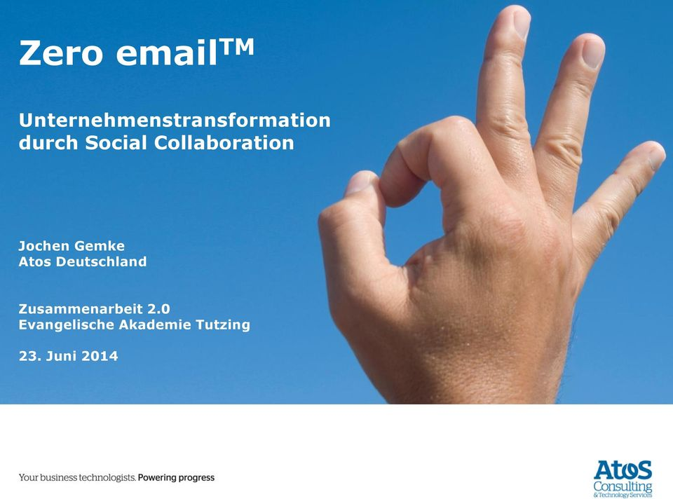 Social Collaboration Atos Deutschland