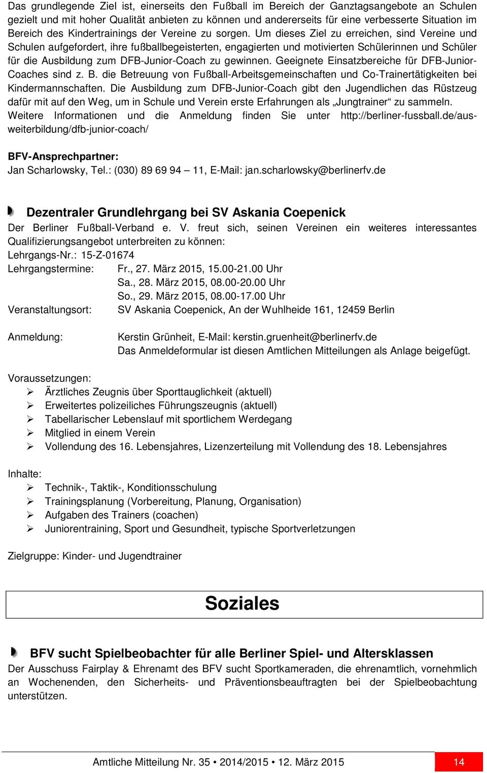 Fein Fußball Coaching Lebenslauf Ziel Galerie - Entry Level Resume ...