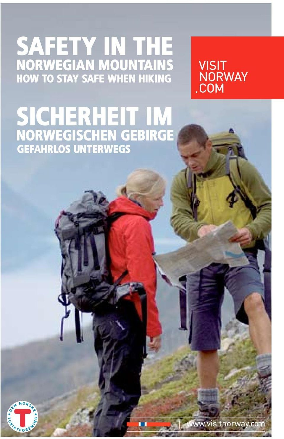 when hiking Sicherheit im