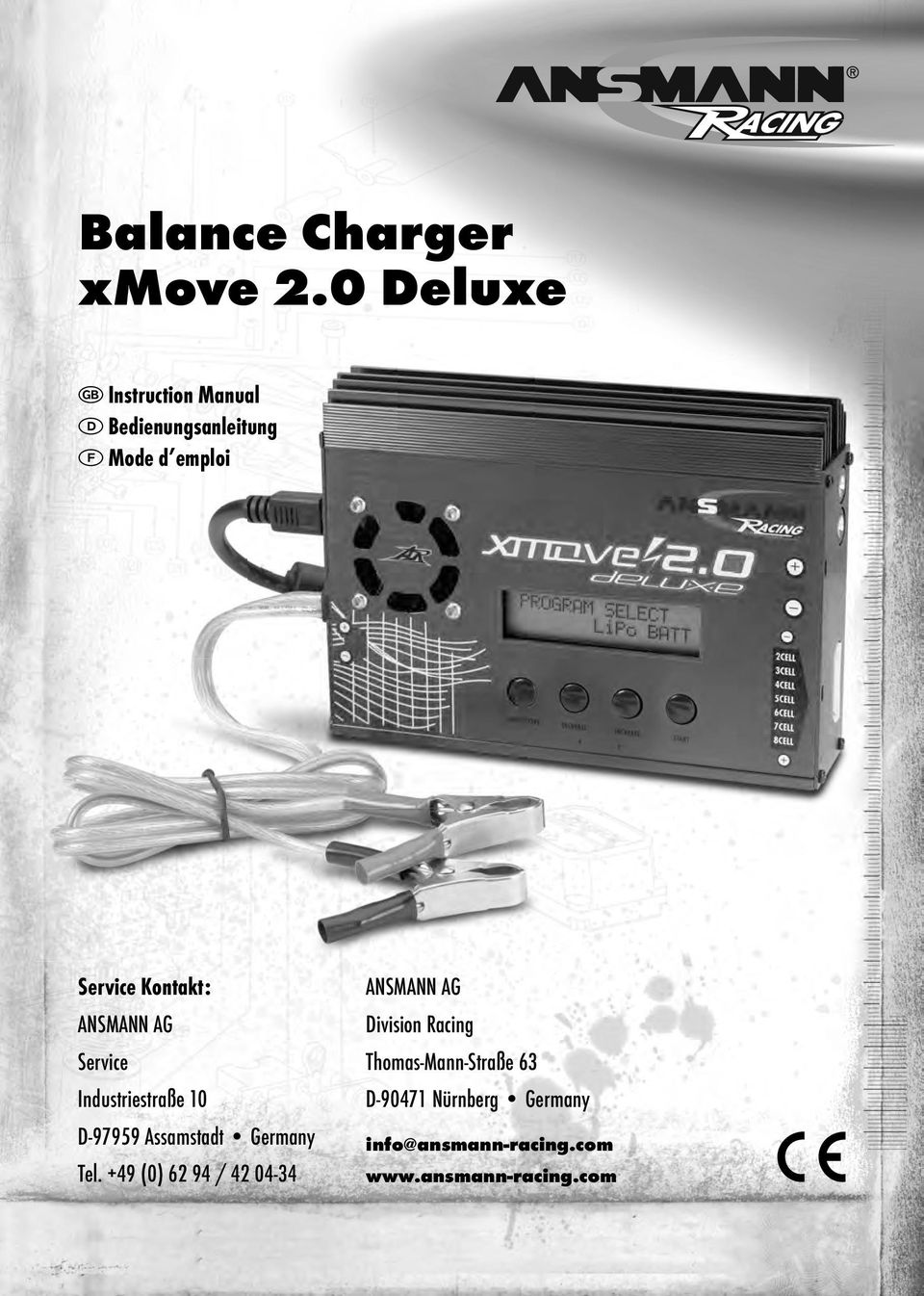Balance Charger xmove 2.0 Deluxe - PDF