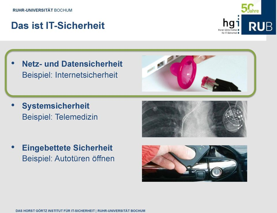 Internetsicherheit Systemsicherheit