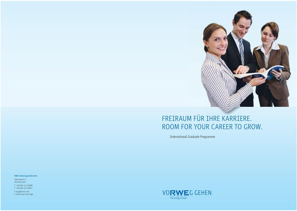 International Graduate Programme RWE