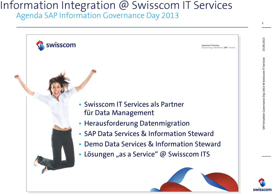 Datenmigration SAP Data Services & Information Steward Demo