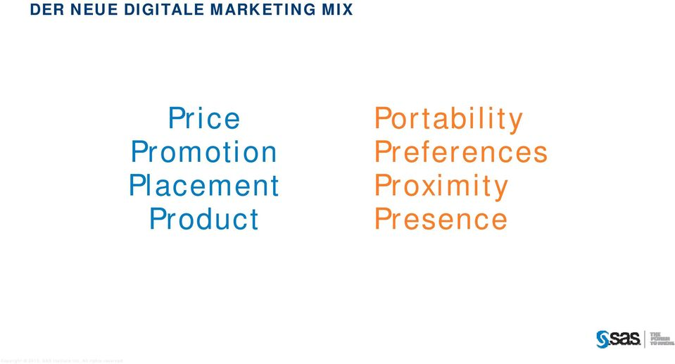 Product Marketing Mix