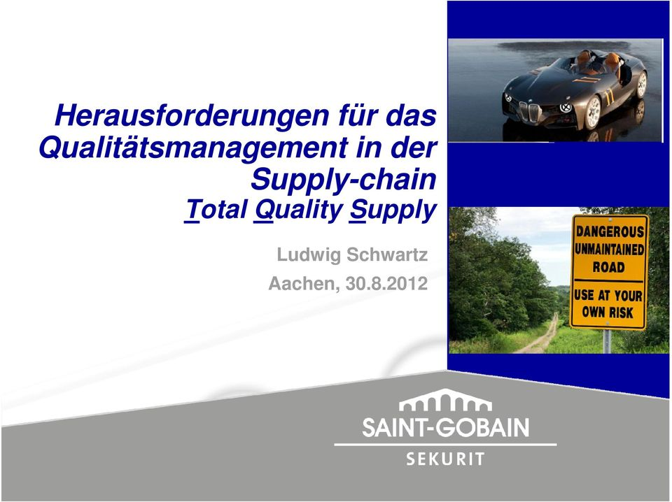 Supply-chain Total Quality