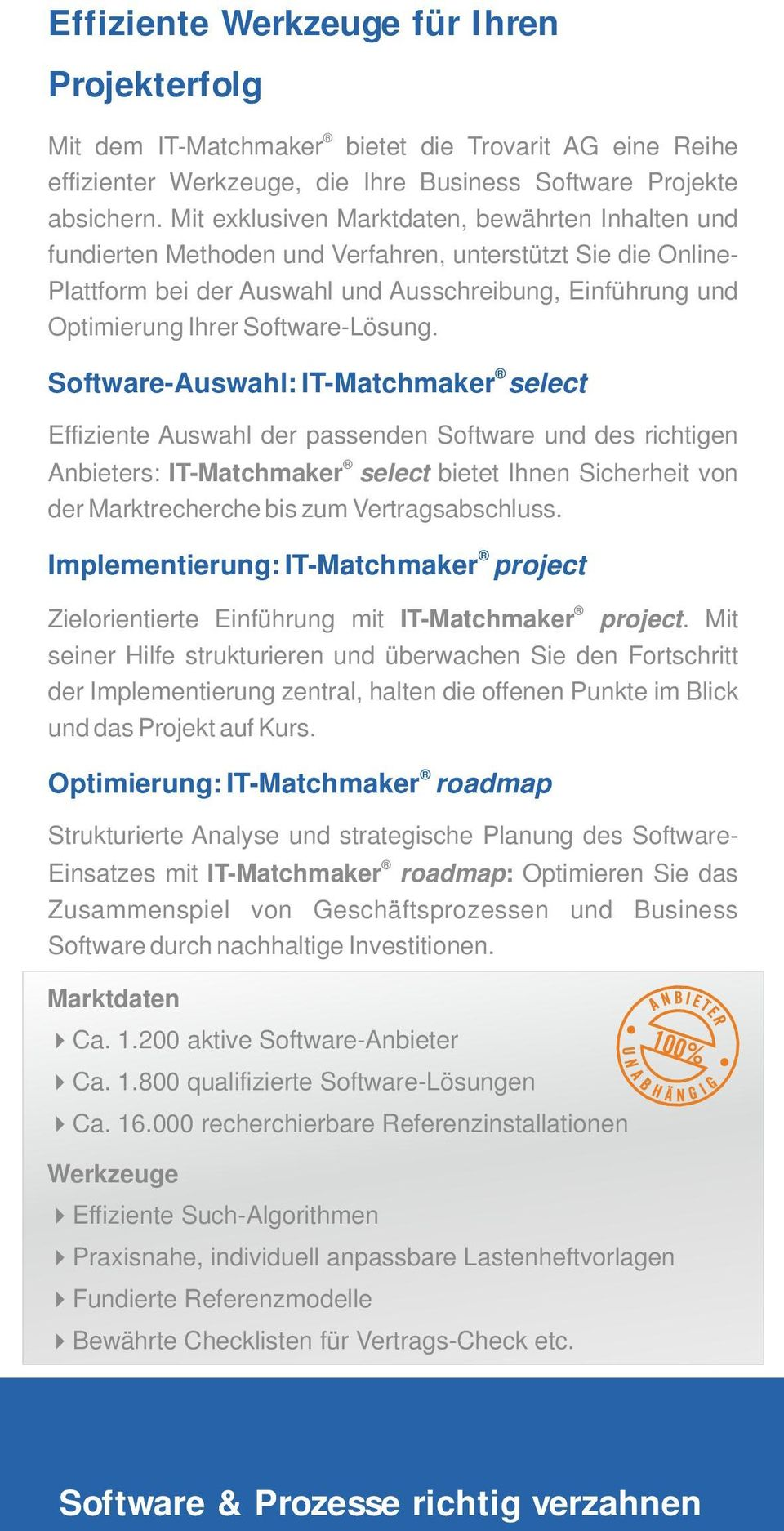 Software-Lösung.